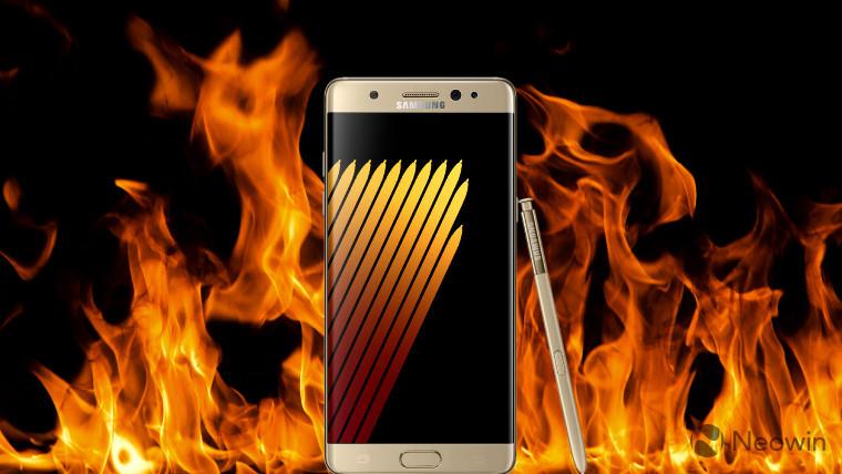 Galaxy note 7 Galaxy note 7 - Galaxy note 7 lại phát nổ khi sử dụng được một ngày sau khi mua