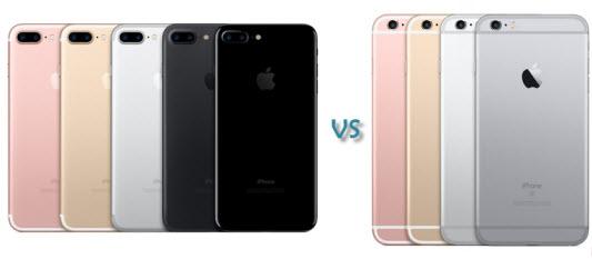 Sự vượt trội của iPhone7  - Sự vượt trội của iPhone7 so với các mẫu iphone thế hệ cũ