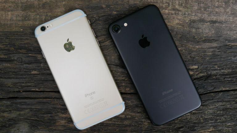 doanh số bán iPhone 7 và iPhone 6s