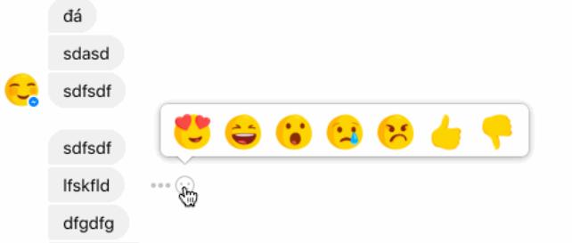 Một số người dùng đã sử dụng được nút dislike trên facebook messenger nút dislike trên facebook messenger - iPhone sẽ được cập nhật nút dislike trên facebook messenger