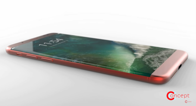 iPhone 8 viền cong mang thiết kế mới lên iPhone của Apple