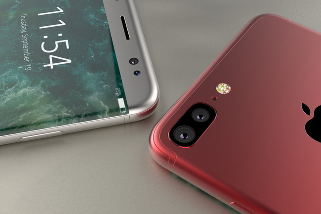 iPhone 8 viền cong - Như vừa biết yêu, mê mẩn trước iPhone 8 viền cong đẹp lạ lùng