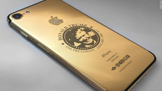 Mẫu iPhone giành cho đại gia này mang phong cách đến từ vị tân tổng thống Mỹ
