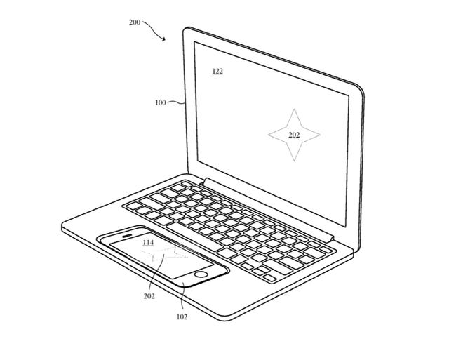 iPhone, iPad, Macbook 3 thiết bị trong 1 thiết kế  iPhone - Chính Apple có thể biến iPhone thành touchpad trên Macbook