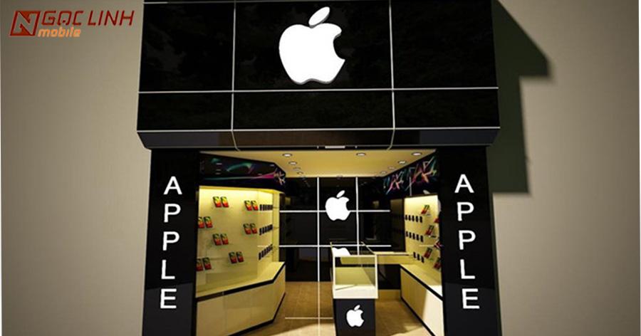 """Nhiều cửa hàng bán iPhone tại Việt Nam lo sợ sẽ bị Apple kiện vì vi phạm hình ảnh thương hiệu trên biển quảng cáo Bán iPhone - Bán iPhone đâu phải dễ ăn được """"Apple"""" ?"""