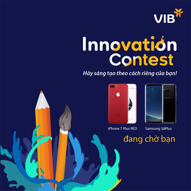 iphone 7 plus - Cuộc thi sáng tạo với phần quà là iPhone 7 Plus của ngân hàng VIB