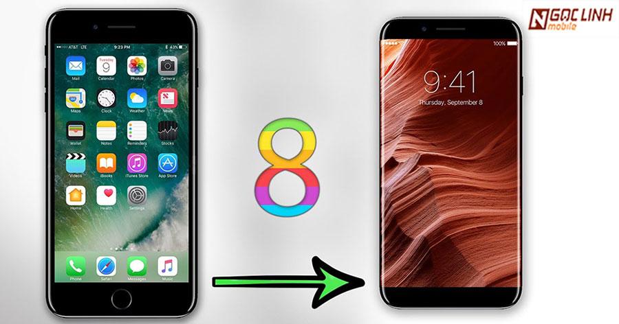 iPhone 8 sẽ có hai phiên bản khác nhau ? iPhone 8 - Có đến 2 mẫu iPhone 8 khác nhau ?