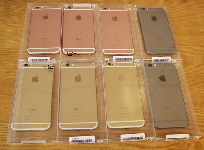 Hình ảnh những chiếc iPhone near new được đóng trong hộp nhựa iPhone near new - bạn chọn iPhone near new hay like new?
