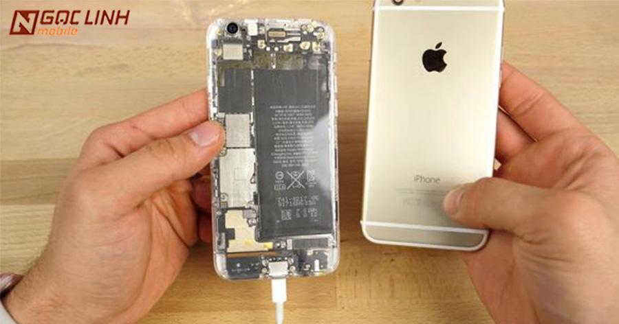 iPhone độ vỏ trong suốt hầm hố cực kỳ ấn tượng  iPhone độ vỏ - iPhone độ vỏ trong suốt hầm hố cực kỳ ấn tượng