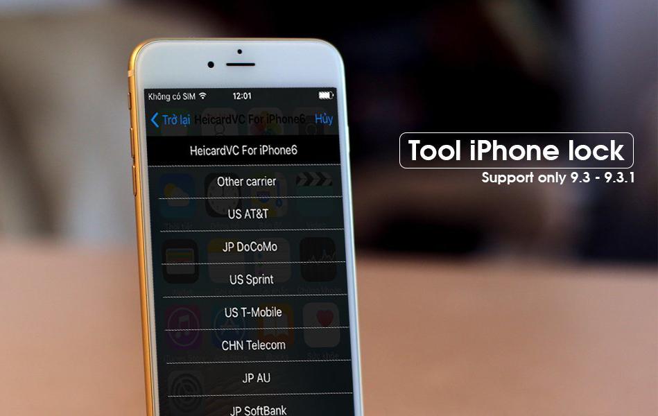 Nhận biết iPhone lock giả dạng quốc tế trong 1 nốt nhạc iPhone lock - Nhận biết iPhone lock giả dạng quốc tế trong 1 nốt nhạc
