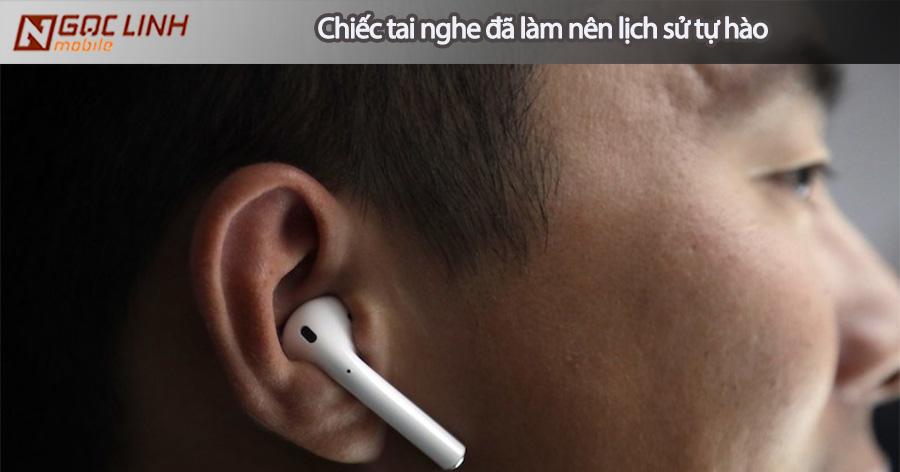 Apple tự hào với chiếc tai nghe AirPods tai nghe airpods - Apple tự hào với chiếc tai nghe AirPods
