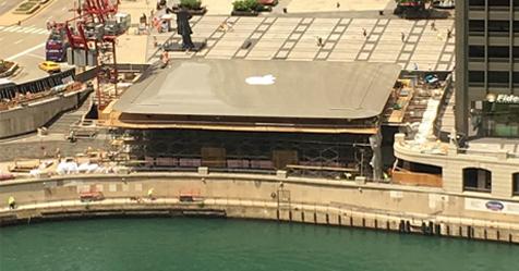 Apple đem cả Macbook Air lên mái nhà