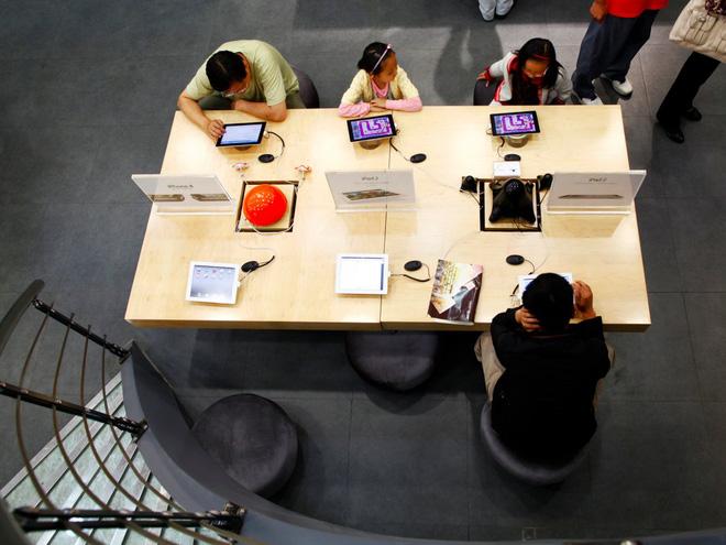 apple store - Thật khó tin, Trung Quốc có những Apple store giả bán iPhone thật