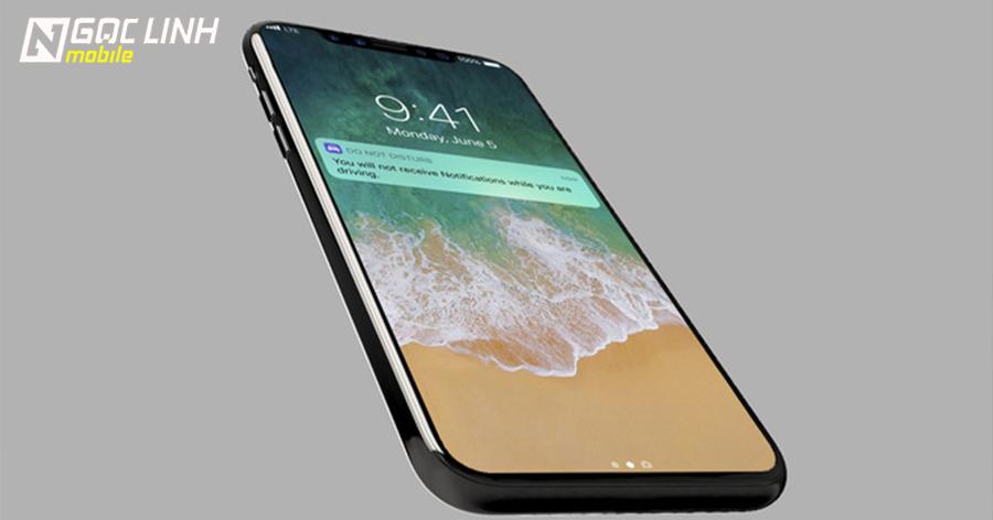 iPhone 8 chạy iOS 11 đẹp long lanh