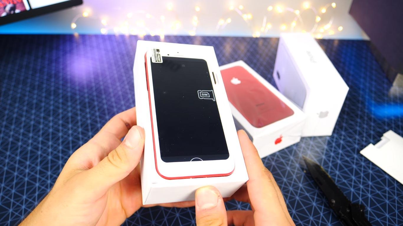 iphone 7 plus red - Mua Iphone 7 đỏ và iphone 7 plus red bộ đôi của nhiệt huyết, tuổi trẻ