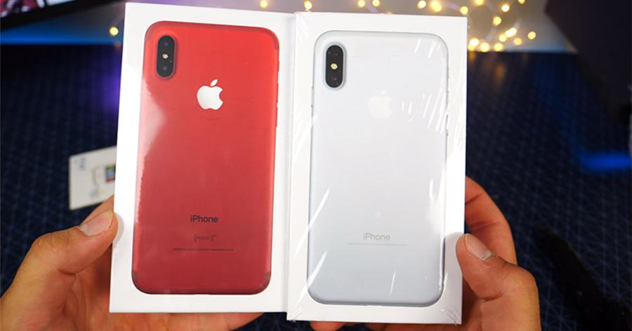 Hình ảnh đập hộp iPhone 8 mới nhất dù thiết bị chưa ra mắt