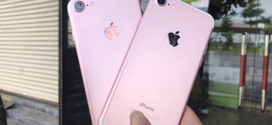 iPhone 6s và iPhone 7