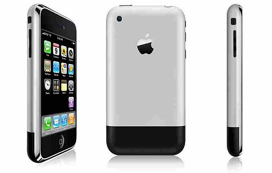 iphone 2G iphone - Xem lại hành trình công nghệ 10 năm của iphone