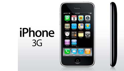 iphone 3g iphone - Xem lại hành trình công nghệ 10 năm của iphone