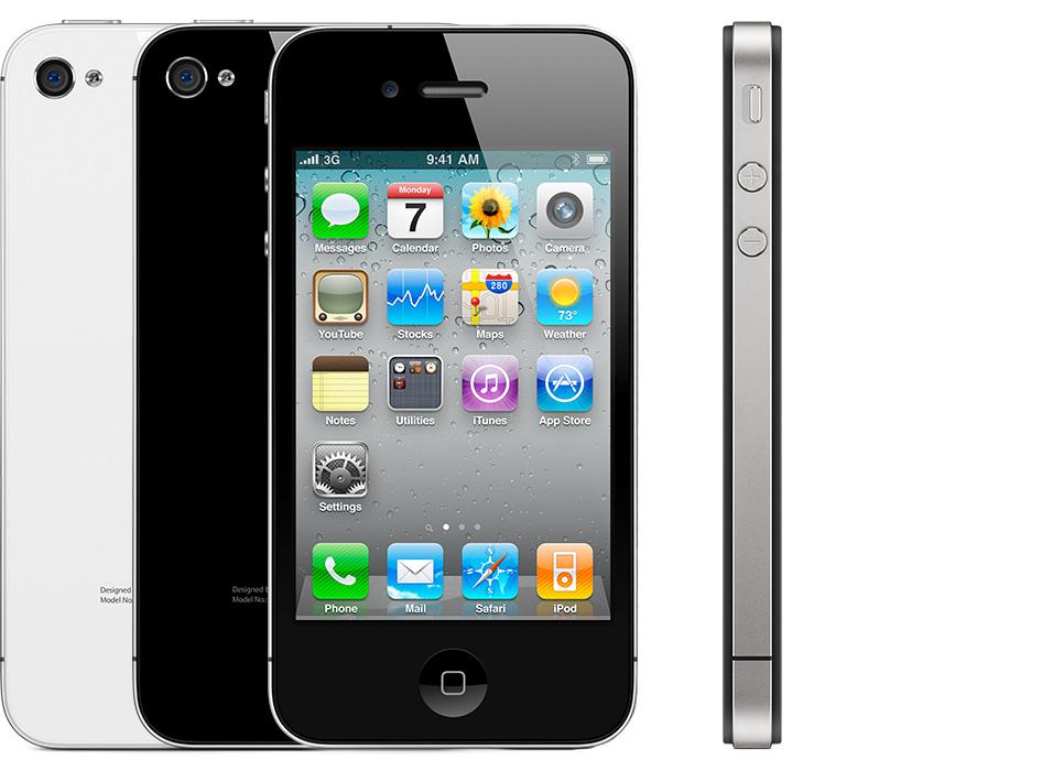 iphone 4 iphone - Xem lại hành trình công nghệ 10 năm của iphone