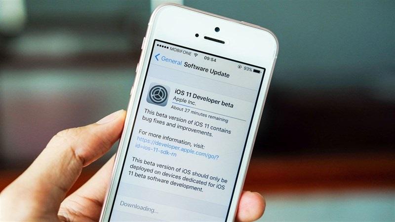 iOS 11 beta 4  ios 11 beta 4 - Apple đưa ra phiên bản mới iOS 11 beta 4