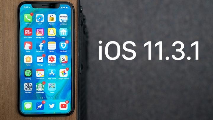 iOS 11.3.1 ios 11.3.1 - iOS 11.3.1 được Apple cập nhật cứu iPhone 8/8 Plus khỏi lỗi màn hình