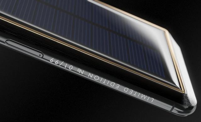 iPhone X Tesla iPhone X Tesla - iPhone X Tesla phiên bản 4000 USD sử dụng pin mặt trời
