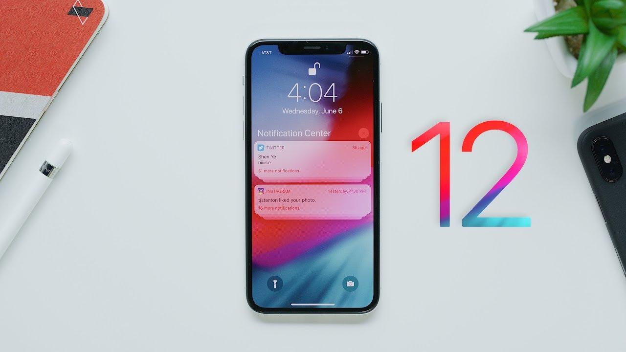 ios 12 ios 12 - ios 12 khiến cho iPhone 5S, 6 như sống lại