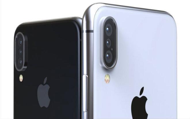 """iPhone X Plus iPhone X Plus - Sắp xuất hiện iPhone X Plus  với 3 camera sau """"đẹp đến mê mẩn''"""