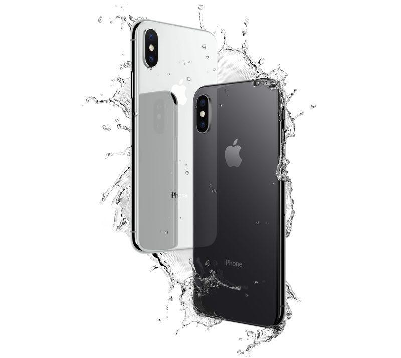 Iphone X kháng bụi và nước