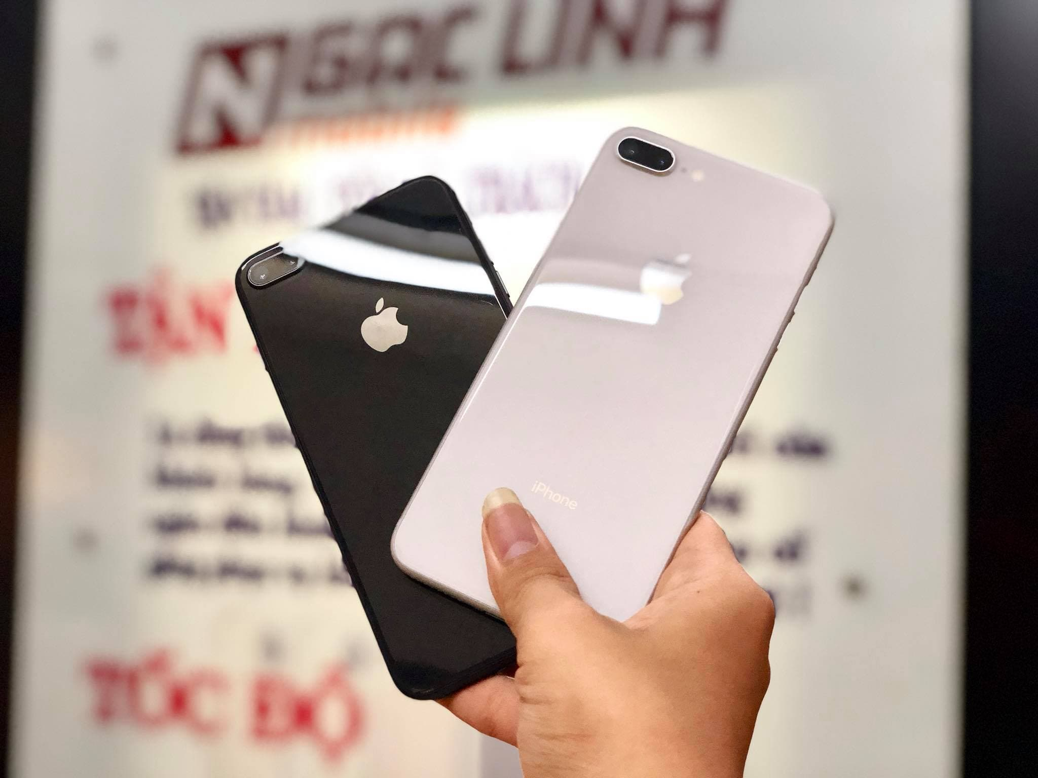 iPhone cũ tại Ngọc Linh Mobile iphone 8 - Những lí do nên mua Iphone 8Plus thay vì Iphone X