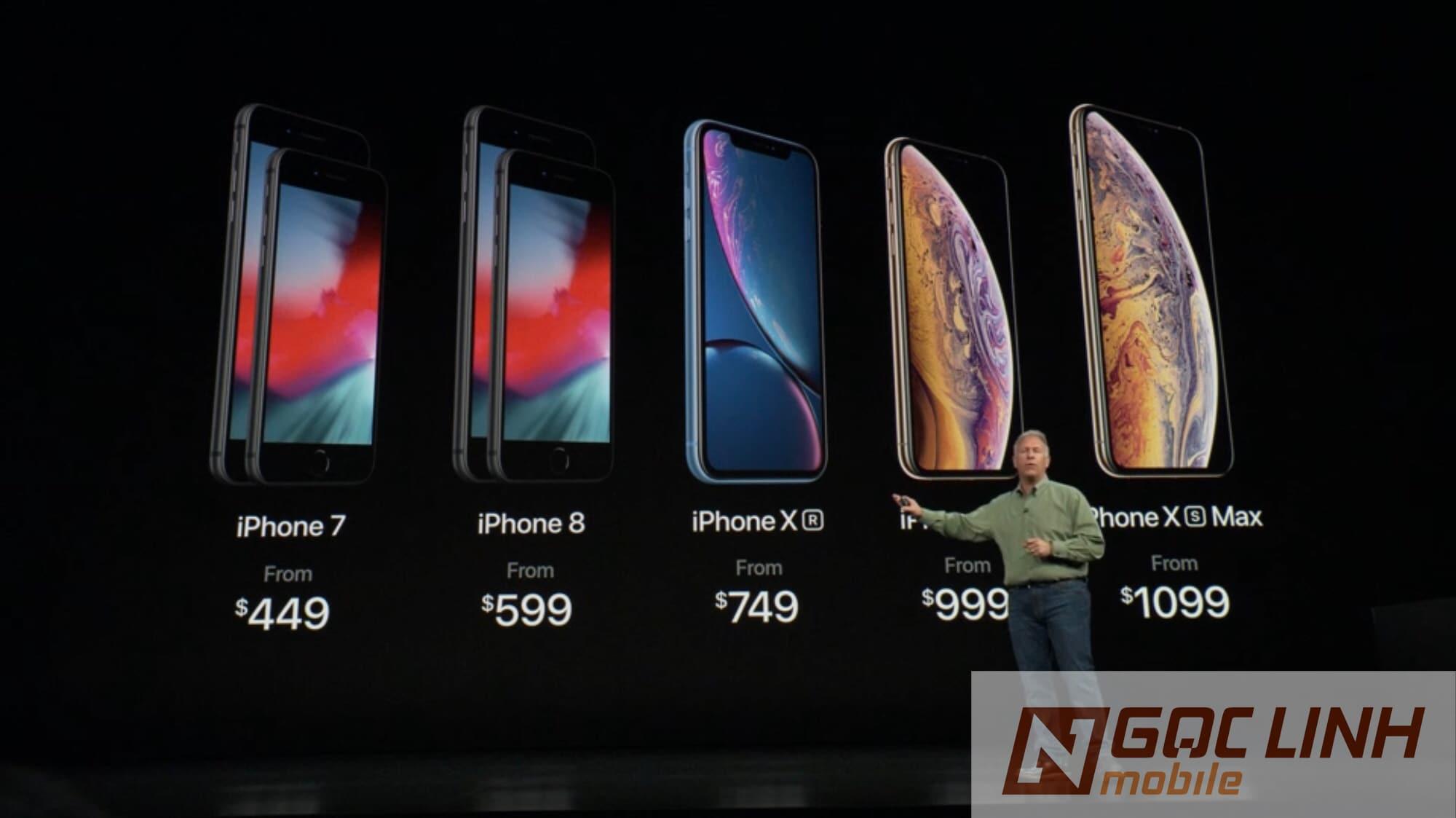 iphone Xs max, iPhone Xr iphone xr - Em út trong bộ 3 2018: iPhone Xr, nhỏ nhưng có võ