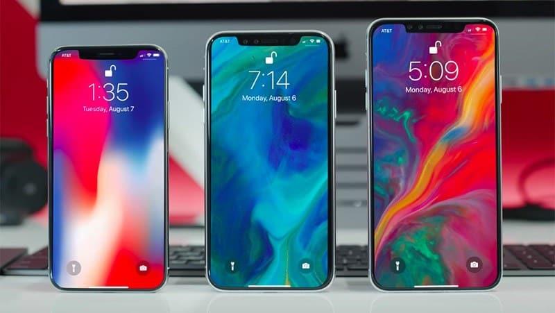 iphone 2018 - Sự khác biệt giữa 3 sản phẩm iPhone 2018