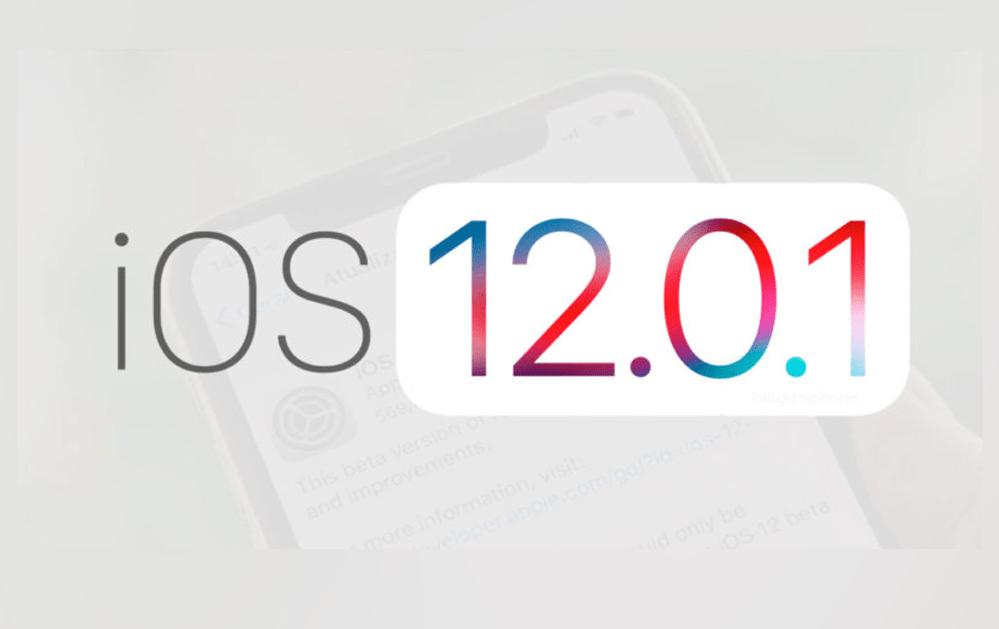 iOS 12.0.1 iOS 12.0.1 - iOS 12.0.1 có gì mới?