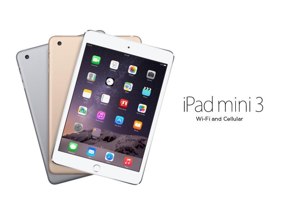 Ipad Mini 3 4g Wifi Cellular Ipad Mini 3 4g Wifi Cellular - Ipad Mini 3 4g Wifi Cellular