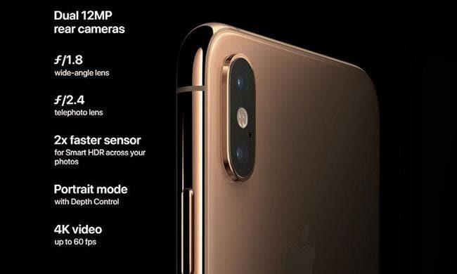 iPhone Xs Max iPhone Xs Max - Tính năng quay video 4k trên iPhone Xs Max