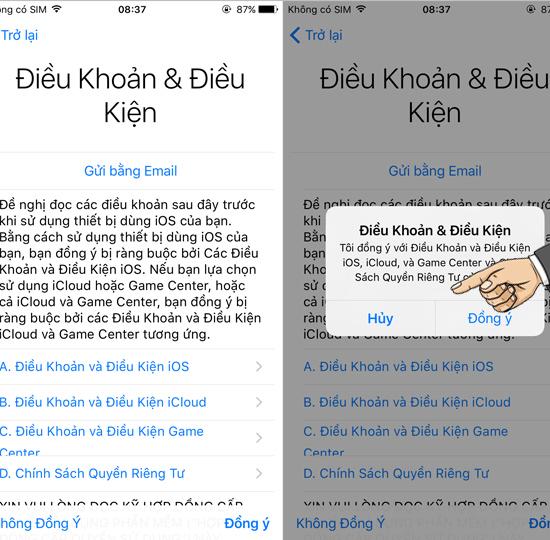 tài khoản iCloud - Cách tạo tài khoản iCloud mới trên iPhone