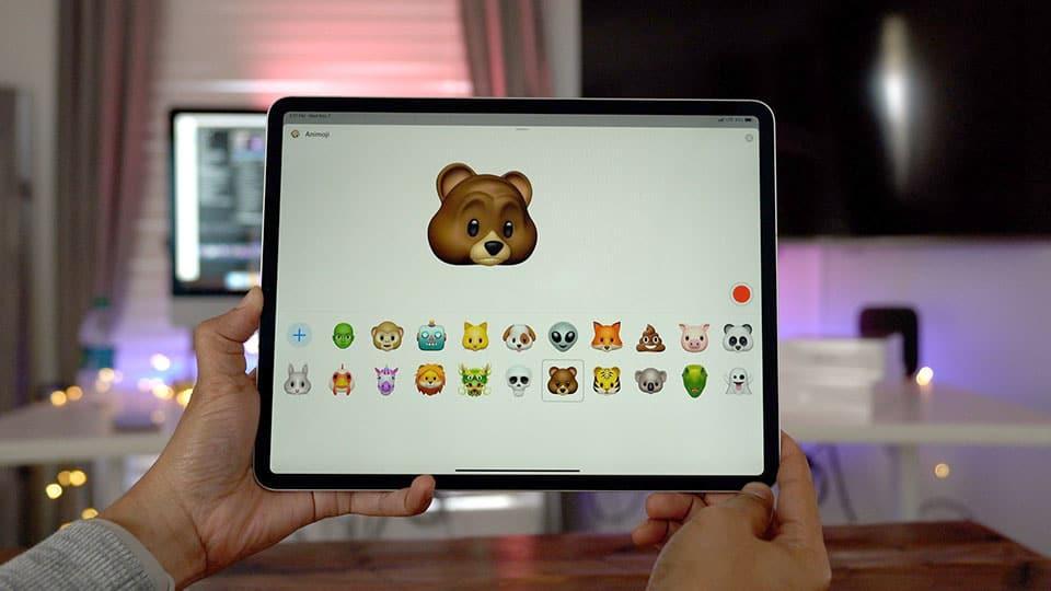 Face ID - Cách tạo Animoji trên iPhone, iPad cũ không có Face ID