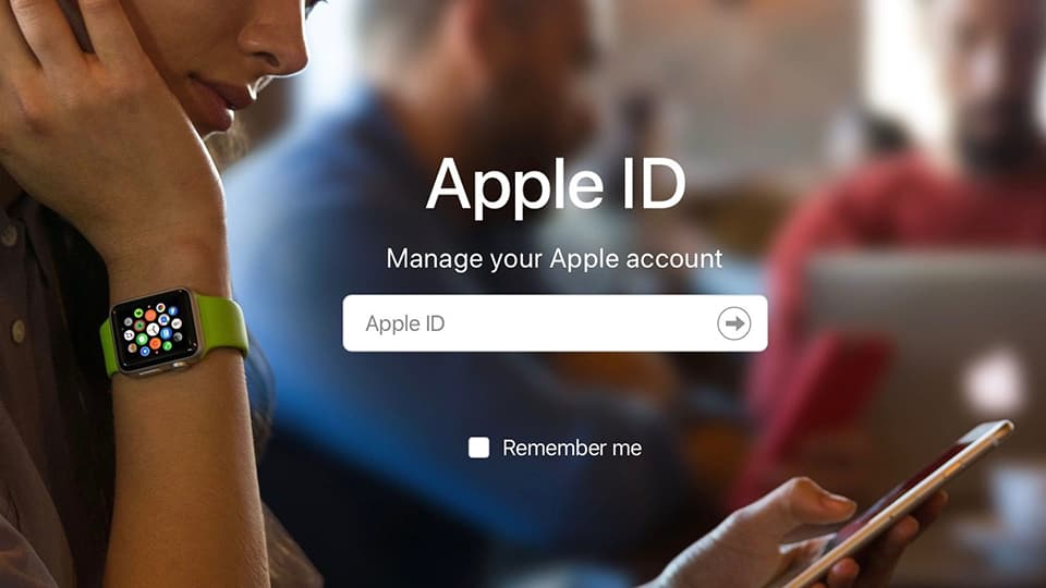 xoá tài khoản Apple ID