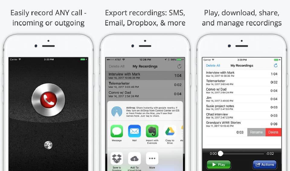 iPhone - 5 cách để ghi âm cuộc gọi trên iPhone