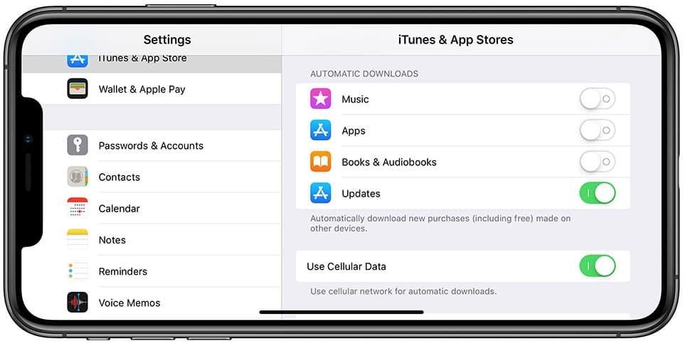 iPhone và iPad iPhone và iPad - Cách tắt tải ứng dụng tự động trên iPhone và iPad