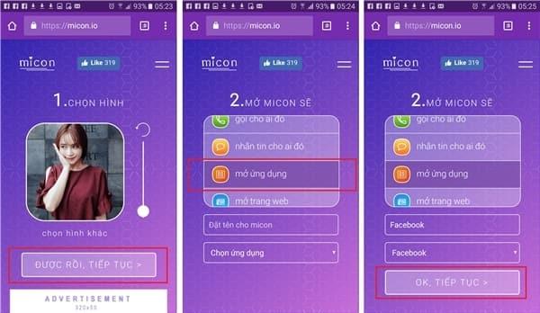 iCon - Cách thay đổi iCon ứng dụng bằng ảnh mình thích cực lạ