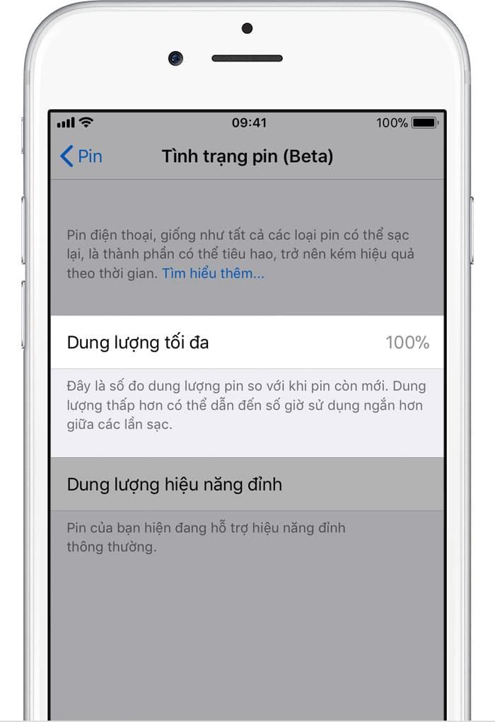 iPhone iPhone - Pin và hiệu năng của iPhone