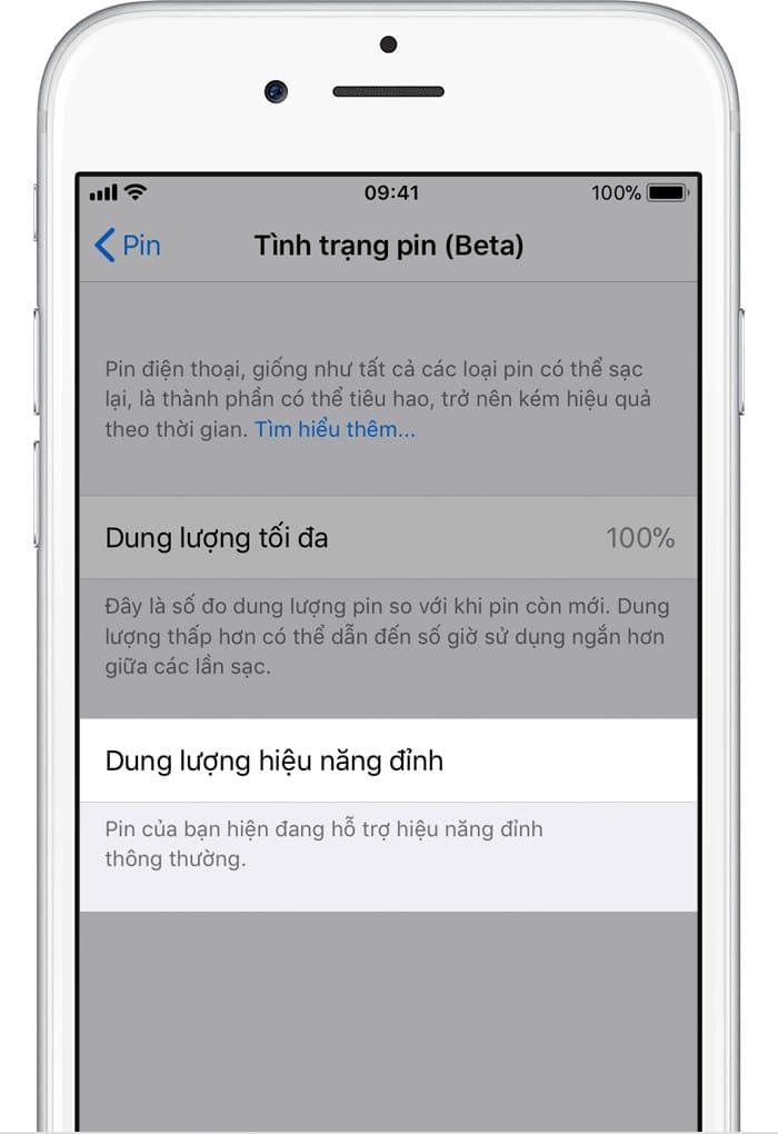 iPhone - Pin và hiệu năng của iPhone