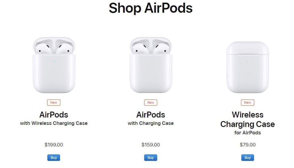 AirPods 2 airpods 2 - AirPods 2 và AirPods có gì khác nhau?