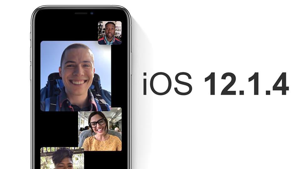 iOS 12.1.4 iOS 12.1.4 - Apple chính thức khóa sign iOS 12.1.4