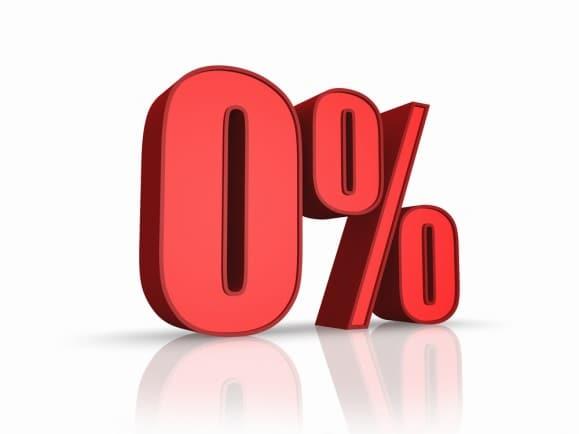 lãi suất 0% - Trả góp lãi suất 0% là như thế nào?