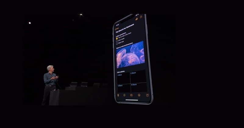 ios 13 - iOS 13 sẽ được trang bị thêm chế độ tối