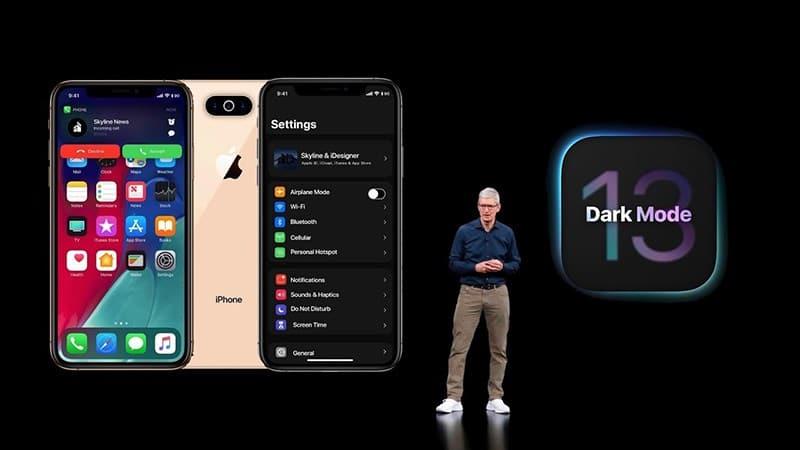 iOS 13 ios 13 - iOS 13 sẽ được trang bị thêm chế độ tối