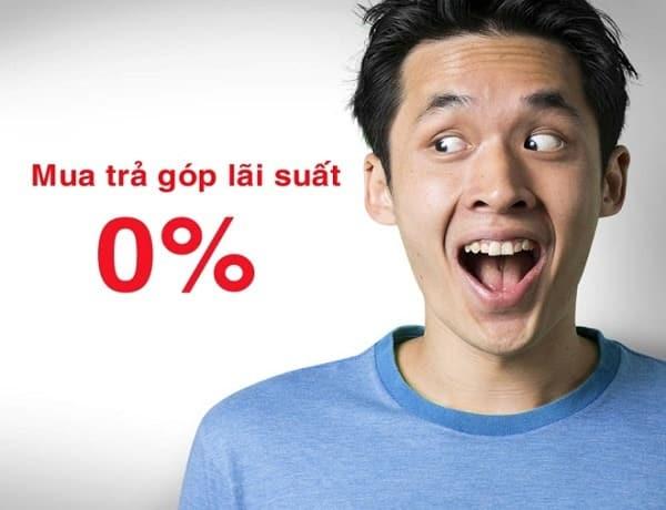 lãi suất 0% lãi suất 0% - Trả góp lãi suất 0% là như thế nào?